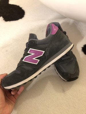 New Balance Turnschuhe sneaker grau pink lila 373 38 Mode Blogger Fashion