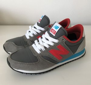 New Balance U 420 SNBR Classic Sneaker 38 Grau Rot Damen Laufschuhe Running