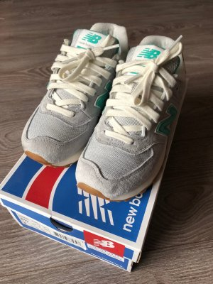 New Balance WL574 BCB Grey/Green