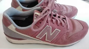 New Balance WR996 rot bordeaux grau