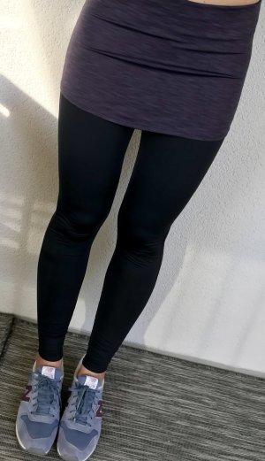 New Balance Yoga Tights schwarz/aubergine Größe S