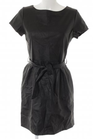 new collection Leather Dress black casual look