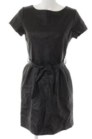 new collection Lederkleid schwarz Casual-Look