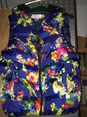Down Vest multicolored