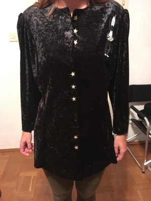Blouse Jacket black viscose