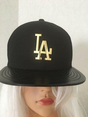 New Era Gorra de béisbol negro Algodón