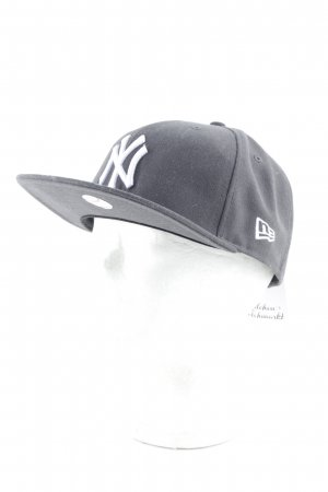New Era Baseball Cap dark grey-white skater style