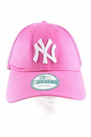 New Era Baseball Cap pink-white casual look