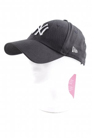 New Era Basecap schwarz-silberfarben Casual-Look
