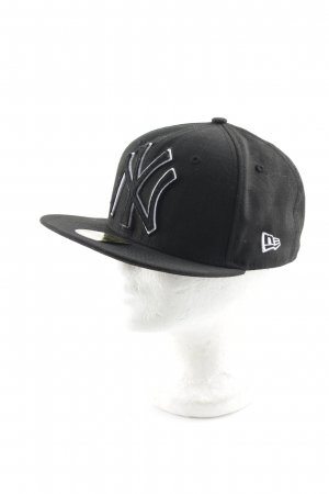 New Era Baseball Cap black-white athletic style