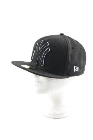 New Era Baseball Cap black-white athletic style