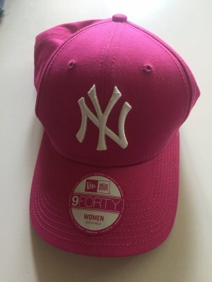 New Era Berretto da baseball bianco-rosa