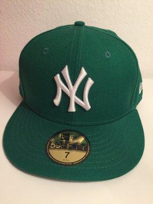 New Era Chapeau de soleil vert forêt