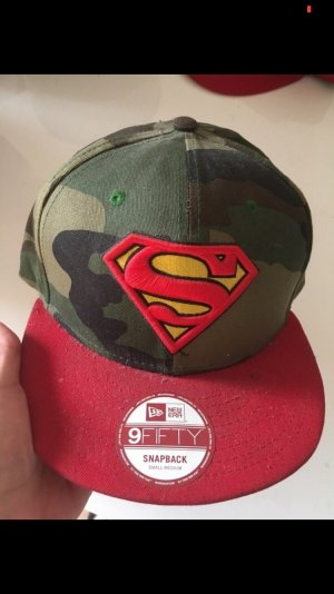 New Era Snapback mit Superman Logo, Camouflage