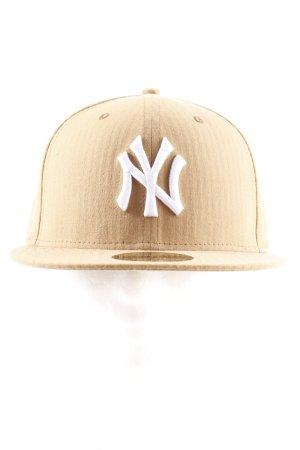 New Era Chapeau de soleil marron clair style athlétique