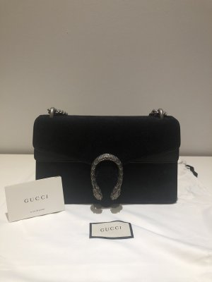 New Gucci Dionysus Small Suede Black