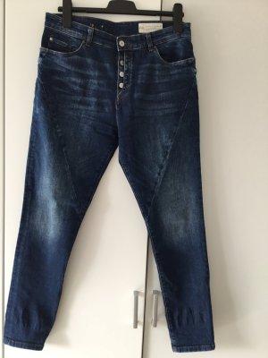 Esprit Jeans boyfriend bleu foncé-bleu