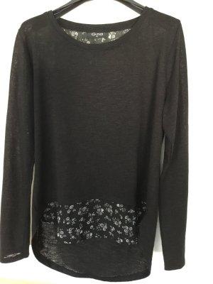 Gina B Kraagloze sweater veelkleurig