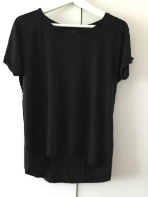 Ichi Boatneck Shirt black