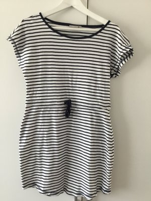 Shirt Dress dark blue-white