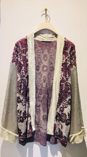 Free People Kimono bordeaux-crema