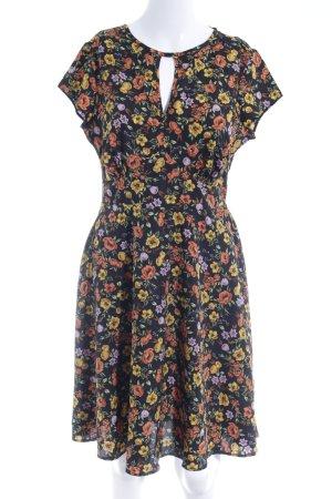 New Look A-Linien Kleid Blumenmuster Casual-Look