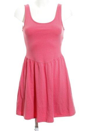 New Look A Line Dress magenta casual look