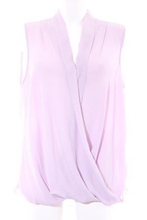 New Look ärmellose Bluse blasslila Elegant