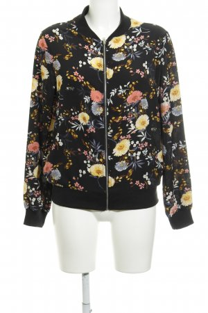 New Look Blusenjacke florales Muster Street-Fashion-Look