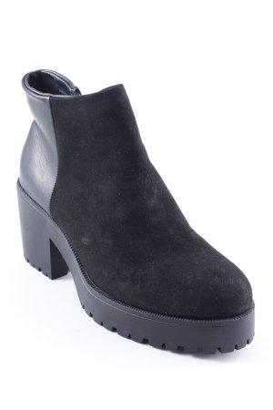 New Look Booties schwarz Elegant
