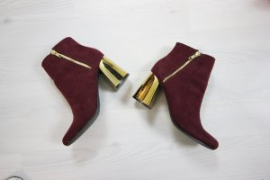 NEW LOOK Boots Stiefeletten metallic Absatz