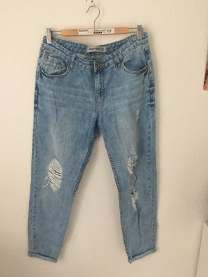 New Look Boyfriend Jeans Destroyed