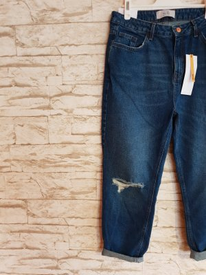 New Look Boyfriend Jeans slate-gray-blue