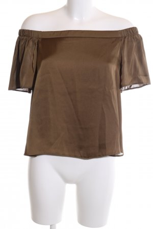 New Look Carmen-Bluse bronzefarben Casual-Look
