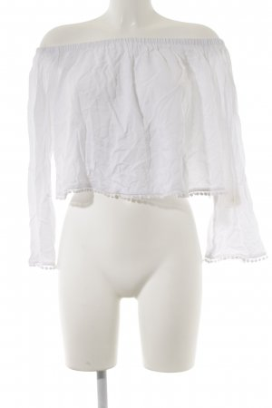 New Look Carmen Blouse white casual look