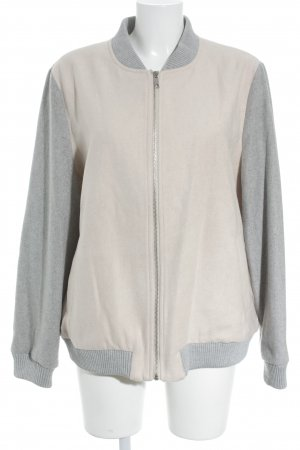 New Look Blouson universitaire rose chair-gris clair style patineur