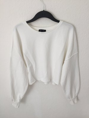 New Look cropped Sweater weiß