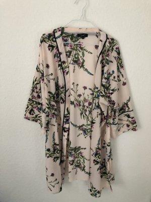 New Look Curves Kimono Blumenmuster