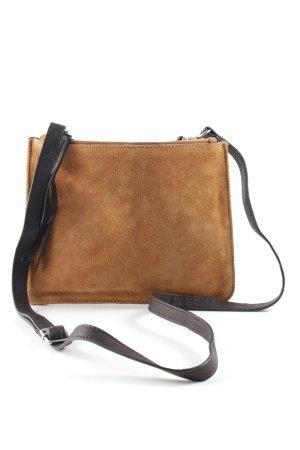 New Look Handtasche hellbraun-schwarz Casual-Look
