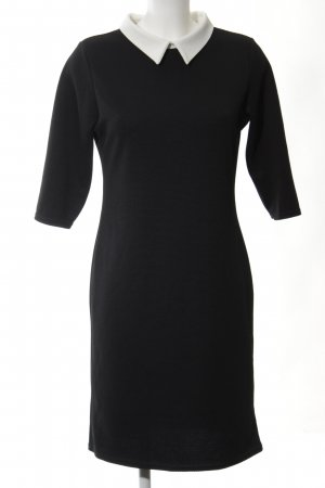 New Look Shirtwaist dress black-white business style