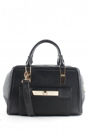 New Look Carry Bag black-gold-colored business style