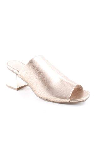 New Look High Heel Sandaletten roségoldfarben-goldfarben abstraktes Muster