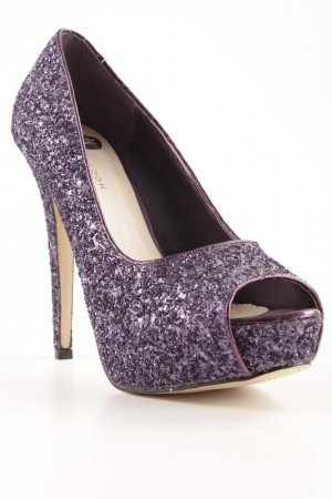 New Look High Heels lila-dunkelviolett extravaganter Stil