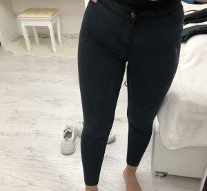 New Look high waist skinny Jeans schwarz dunkelgrau