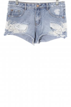New Look Hot Pants kornblumenblau Casual-Look