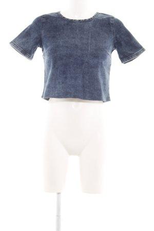 New Look Denim Blouse blue casual look