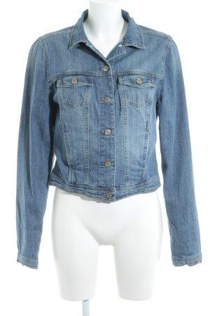 New Look Jeansjacke kornblumenblau-stahlblau Casual-Look
