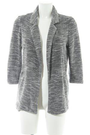 New Look Jerseyblazer schwarz-weiß meliert Casual-Look