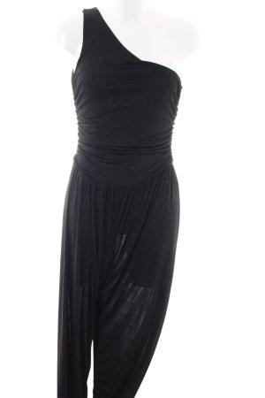 New Look Jumpsuit schwarz Punktemuster Casual-Look