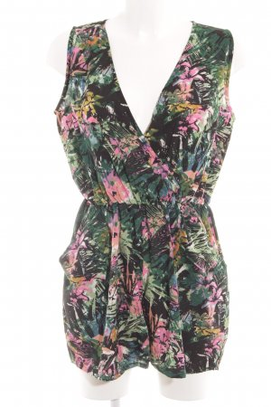 New Look Jumpsuit abstraktes Muster Casual-Look